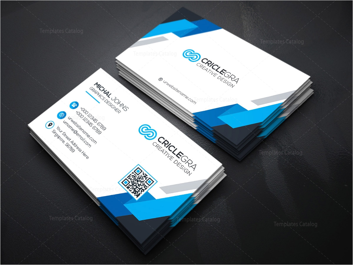psd organisation business card template 000182