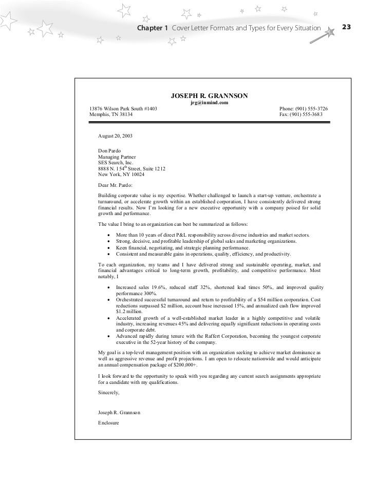 cover letter bullet points 2156