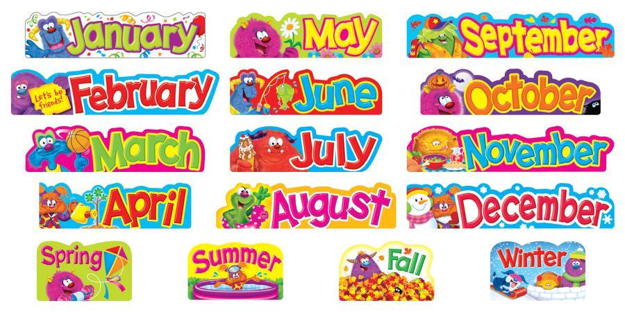 Bulletin Board Calendar Template Free Printable Classroom Bulletin Borders Printable Spring