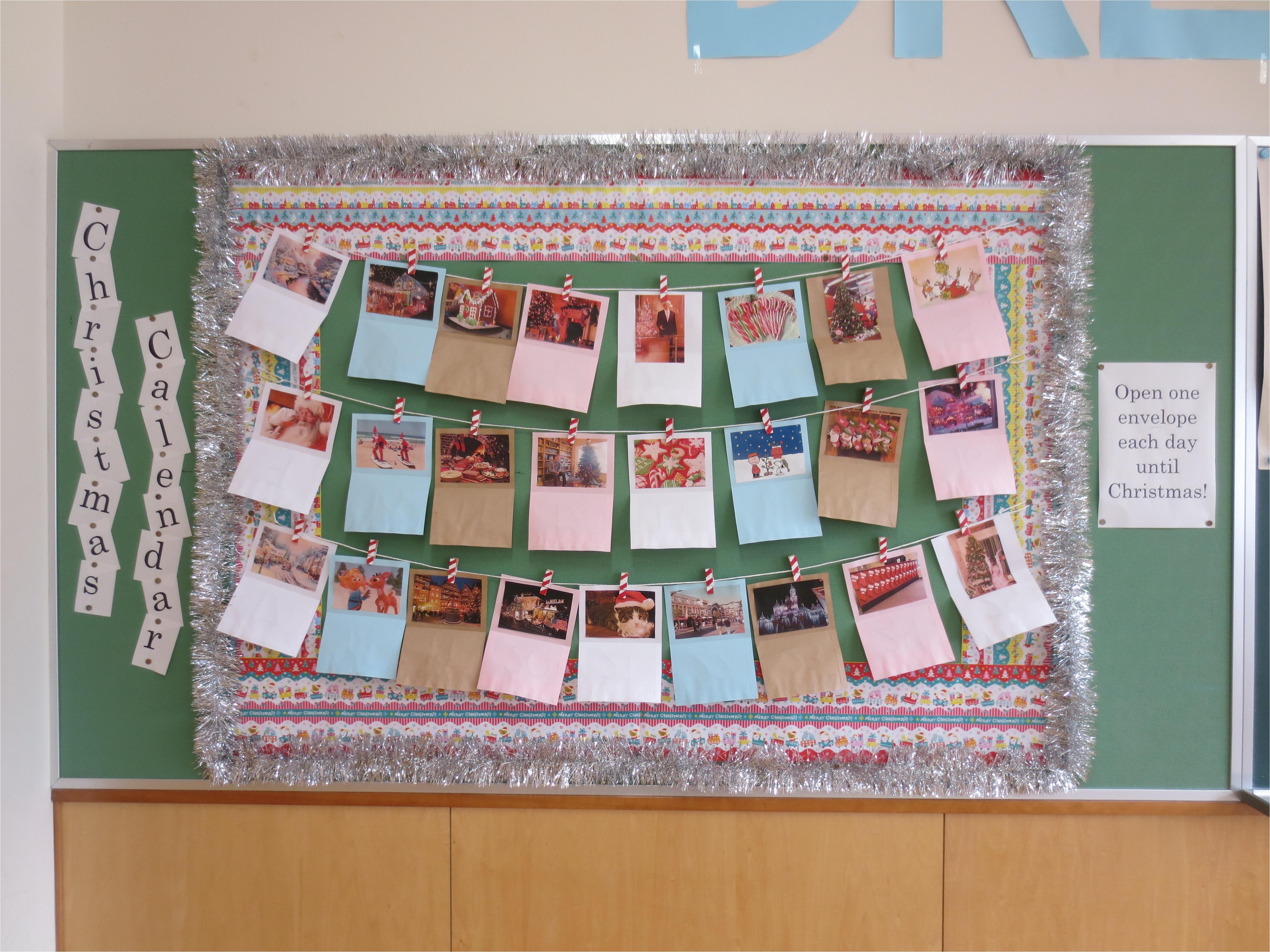 bulletin board calendar template
