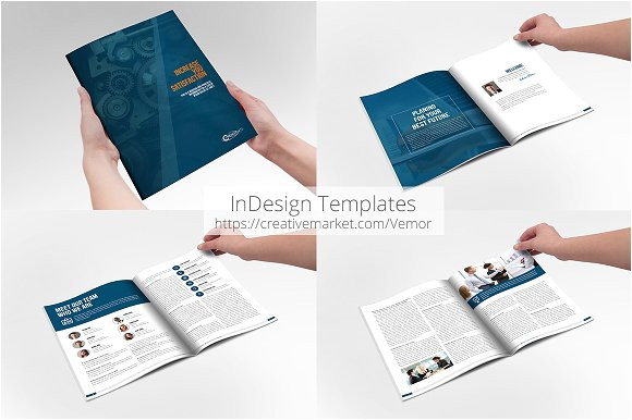 Buy Indesign Templates Business Annual Indesign Template Brochure Templates