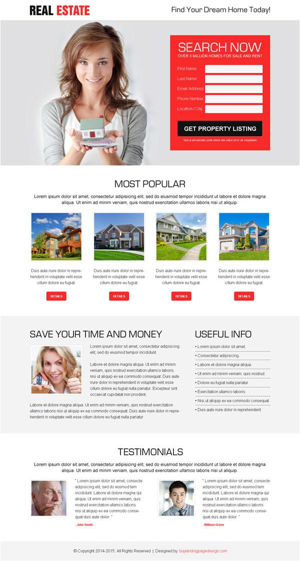 free landing page design by buylandingpagedesign