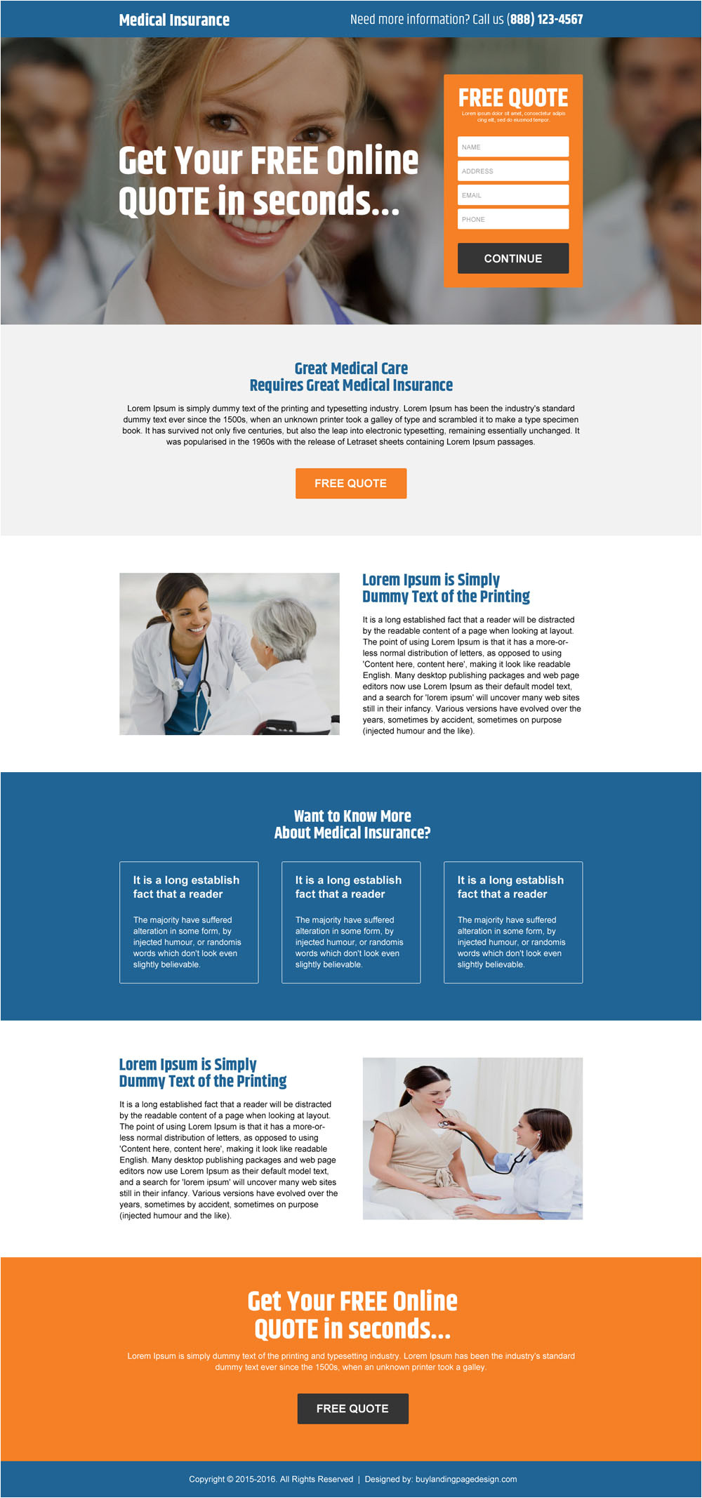 perfect landing page design templates for online marketers