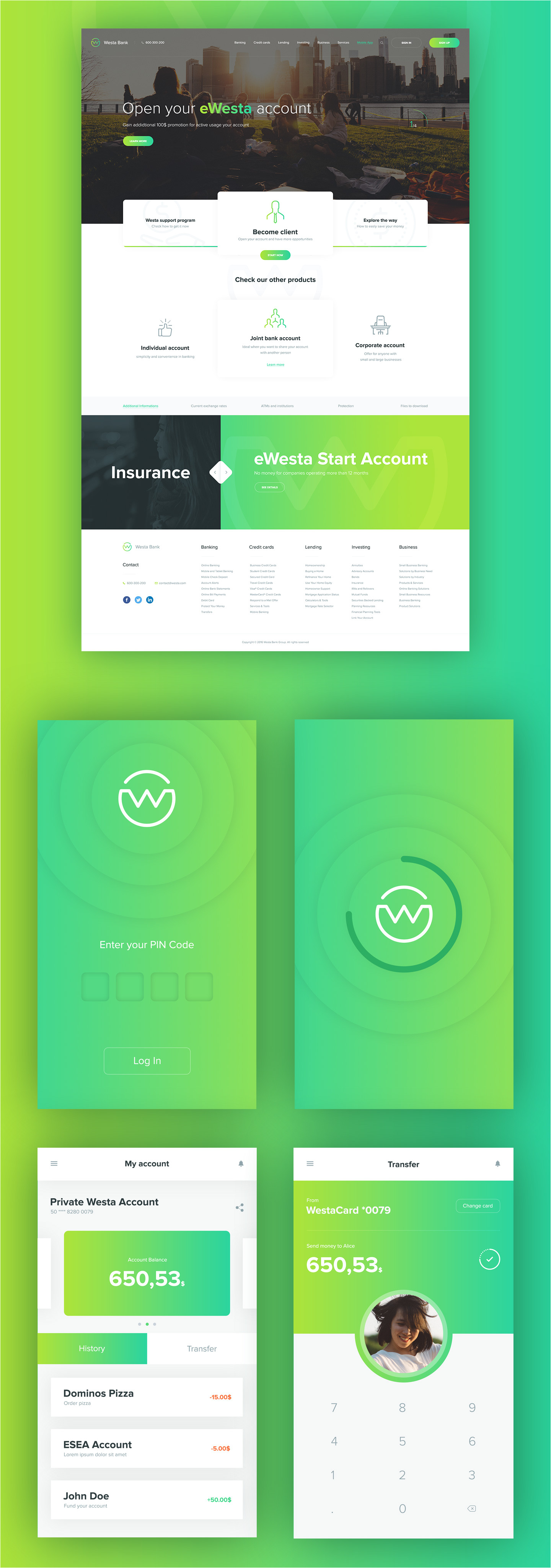 Buy Mobile App Templates Westa Free Psd Template and Mobile App 72pxdesigns