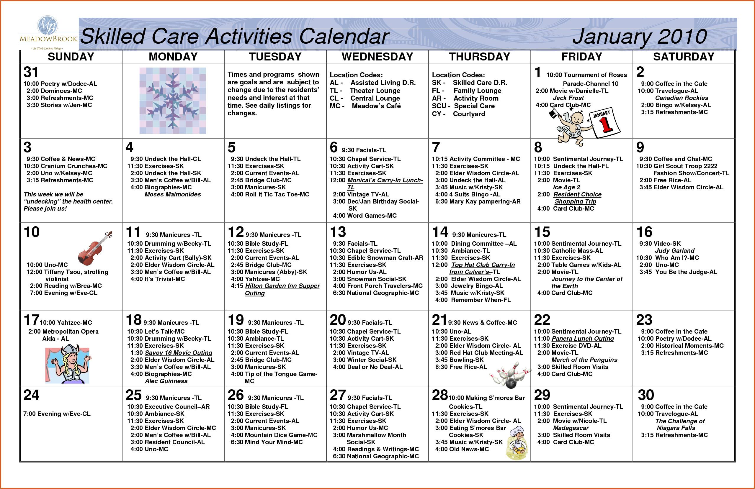 january 2015 calendar microsoft word
