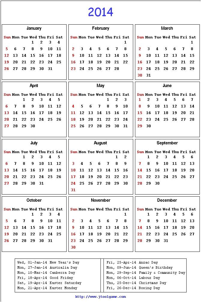 Calendar Template 2014 Australia Search Results for Calendar Australia 2014 Calendar 2015