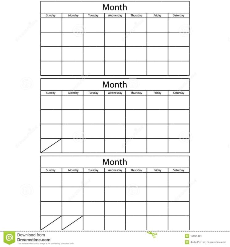 printable calendar 3 months per page