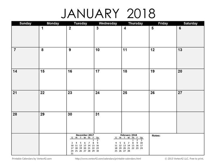 blank monthly calendar 2016