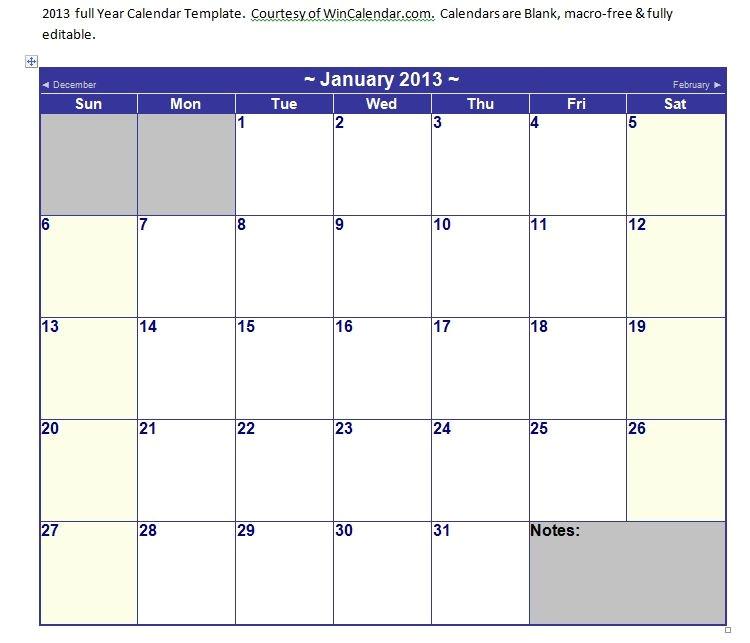 Calendar Template for Word 2007 Calendar Template In Ms Word 2007 Granitestateartsmarket Com