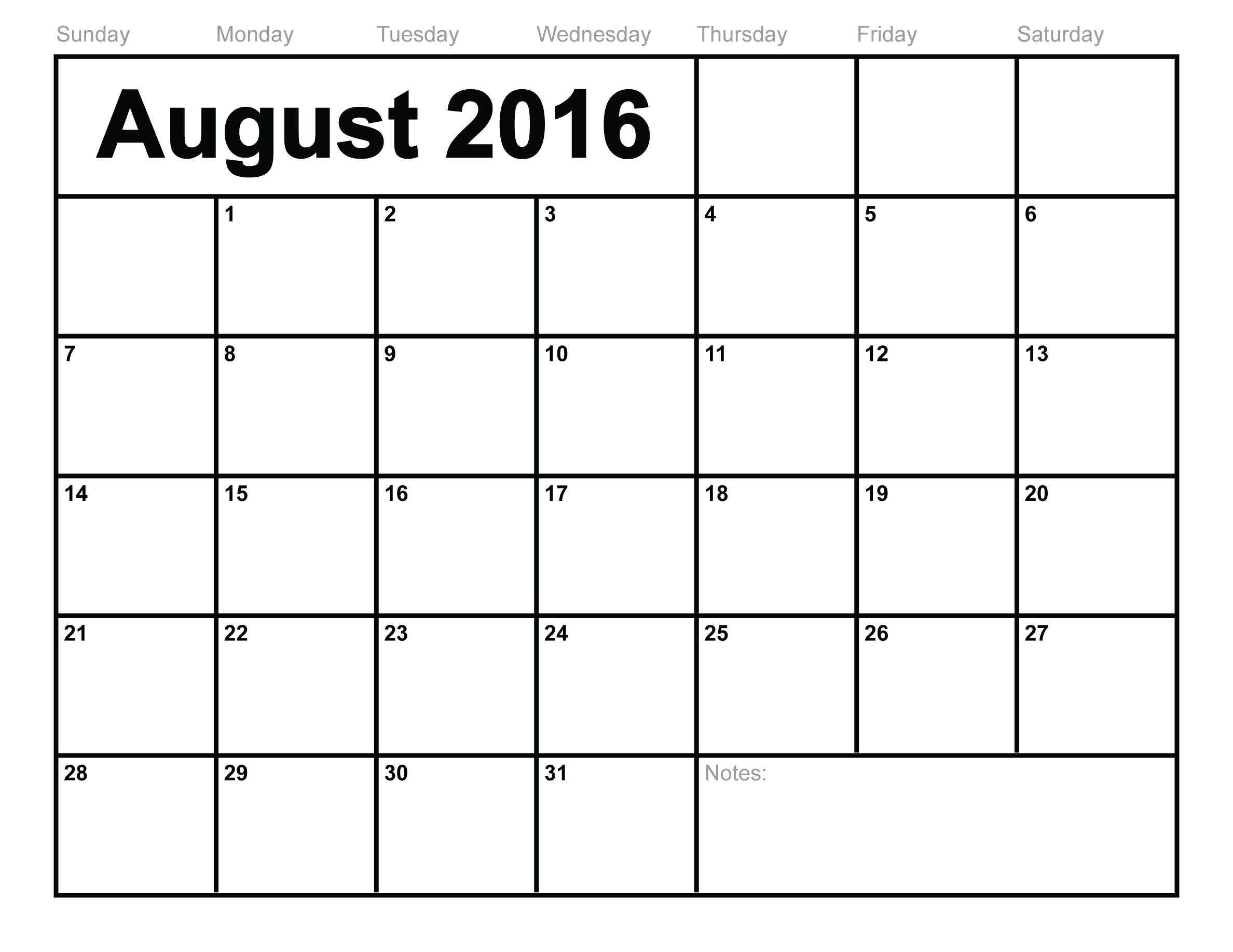 Calendar Template to Type In Blank Calendar Template 2016 that You Can Type In