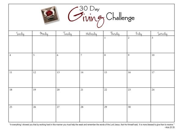 printable 30 day calendar 30 day workout calendar plan