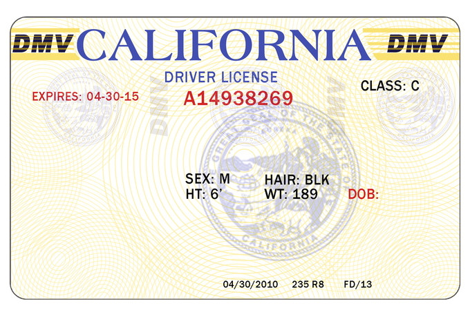 post blank drivers license template psd 264955