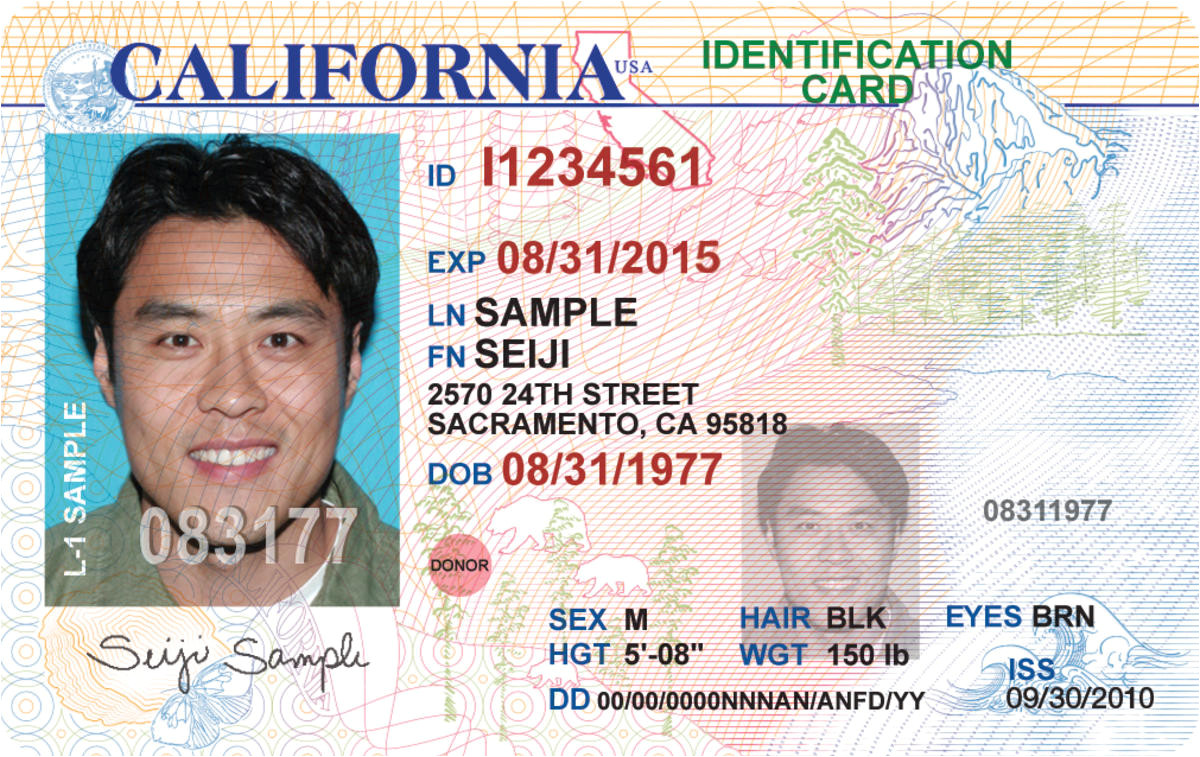 California Id Template Download New California License Coming to A Wallet Purse Near You