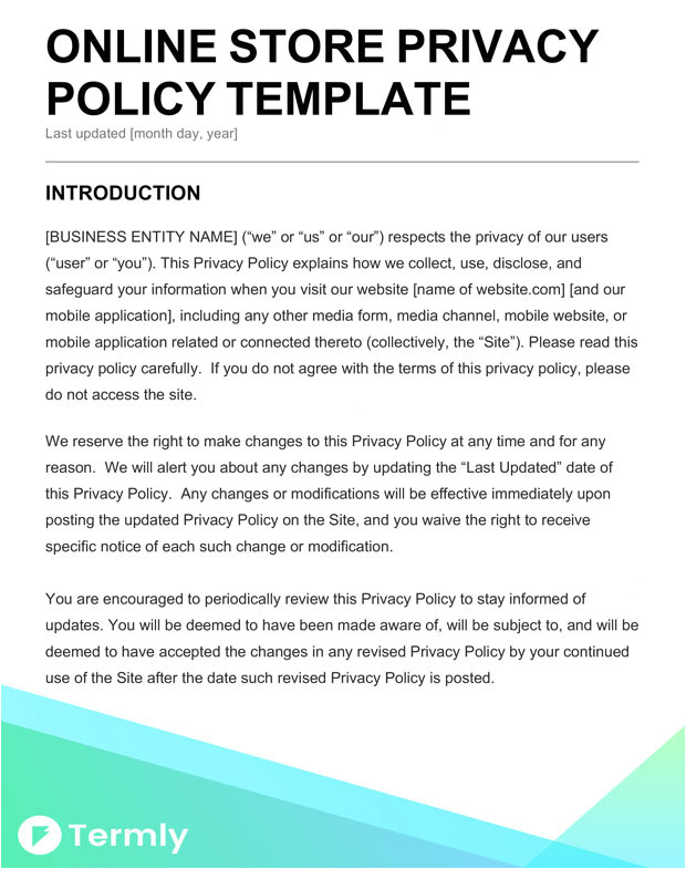 California Privacy Policy Template Beaufiful Online Will Template Photos California Will