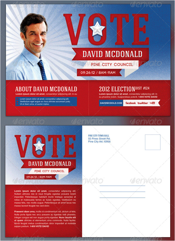 political flyer template political election flyer and mail