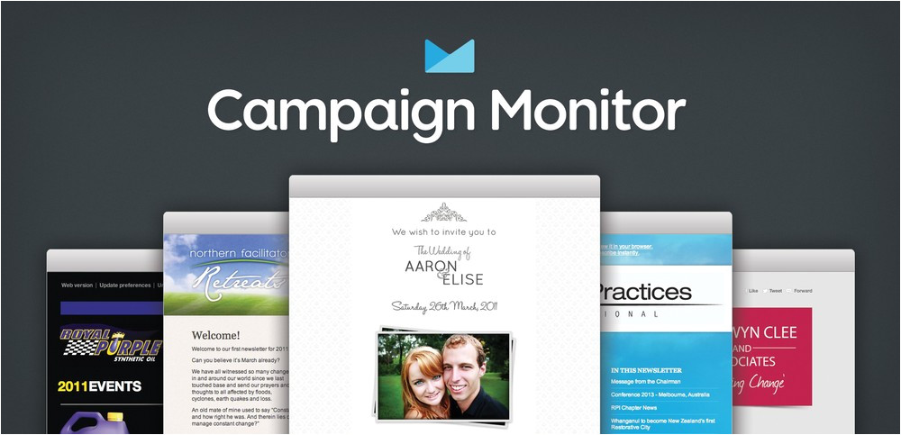 Campaign Monitor HTML Templates Campaign Monitor Review 2018 Pricing Templates