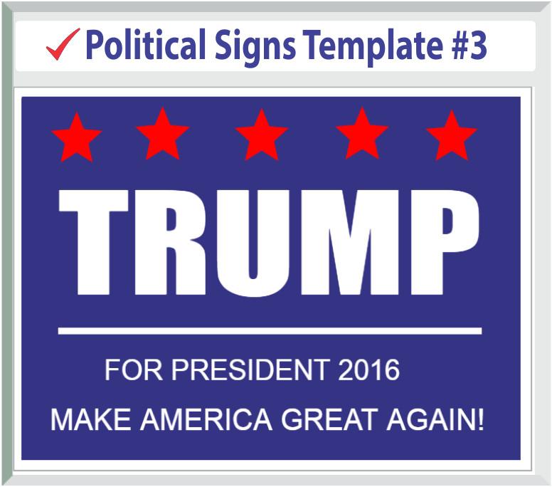 politicalsignstemplates