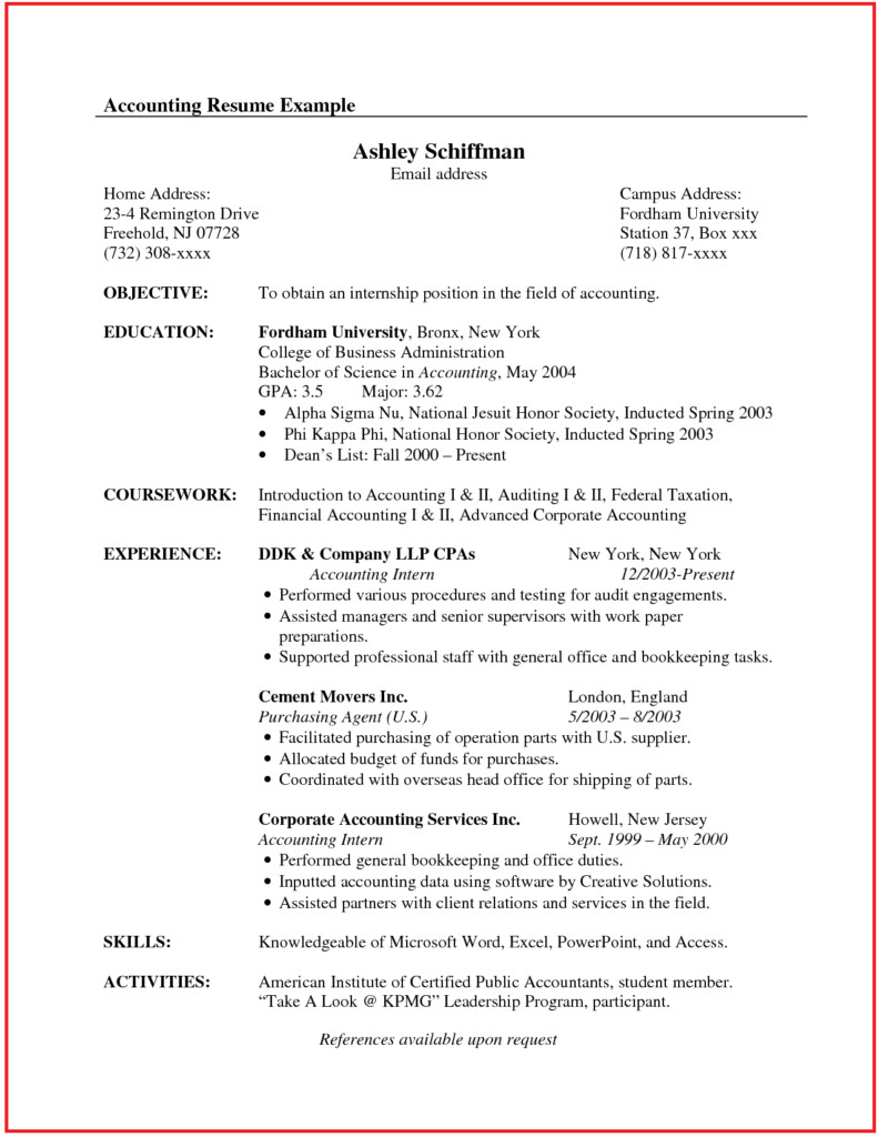 canadian style resume and cover letter 3