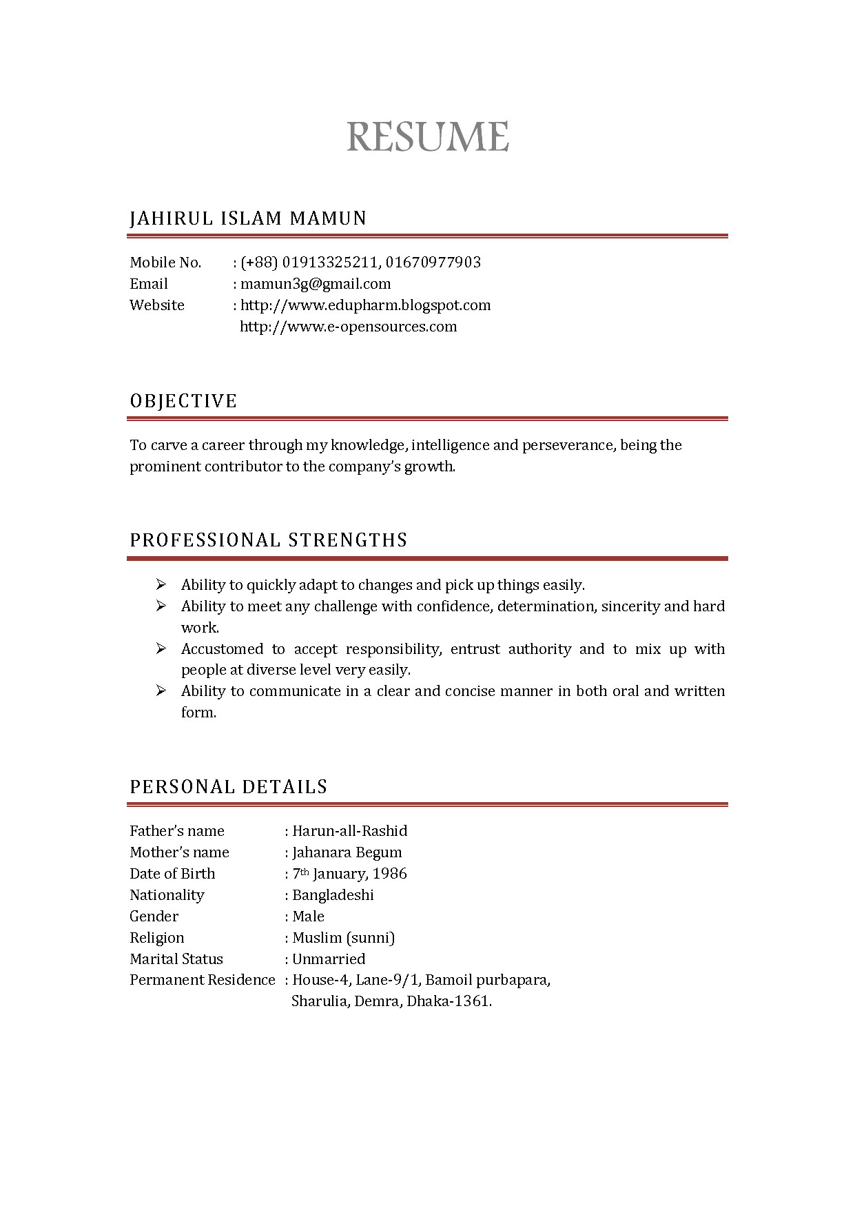 Canadian Style Resume and Cover Letter Canadian Style Resume Lovely Resume Styles Examples Resume