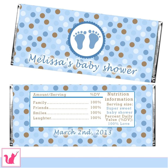candy bar wrapper printable personalized