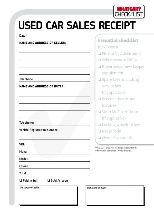 used car sales invoice template uk 1456