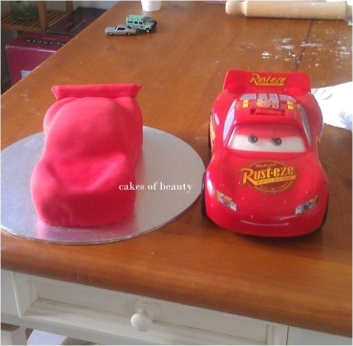 easy car cake template