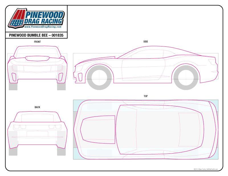 Car Template for Cake Lightning Mcqueen Pinewood Template HTML Autos Weblog