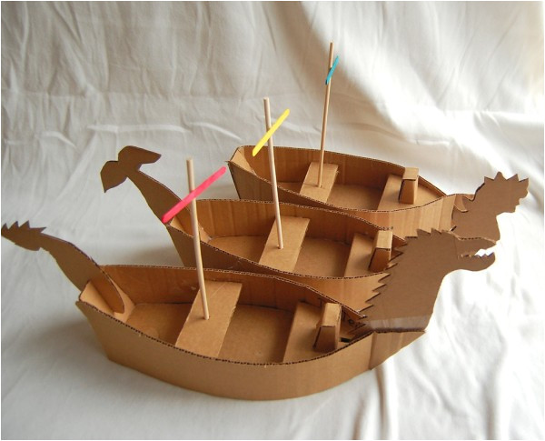 how to make cardboard pirate ship