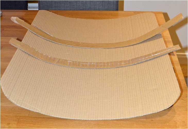 Cardboard Shield Template Make A Roman Shield Time Traveller Kids