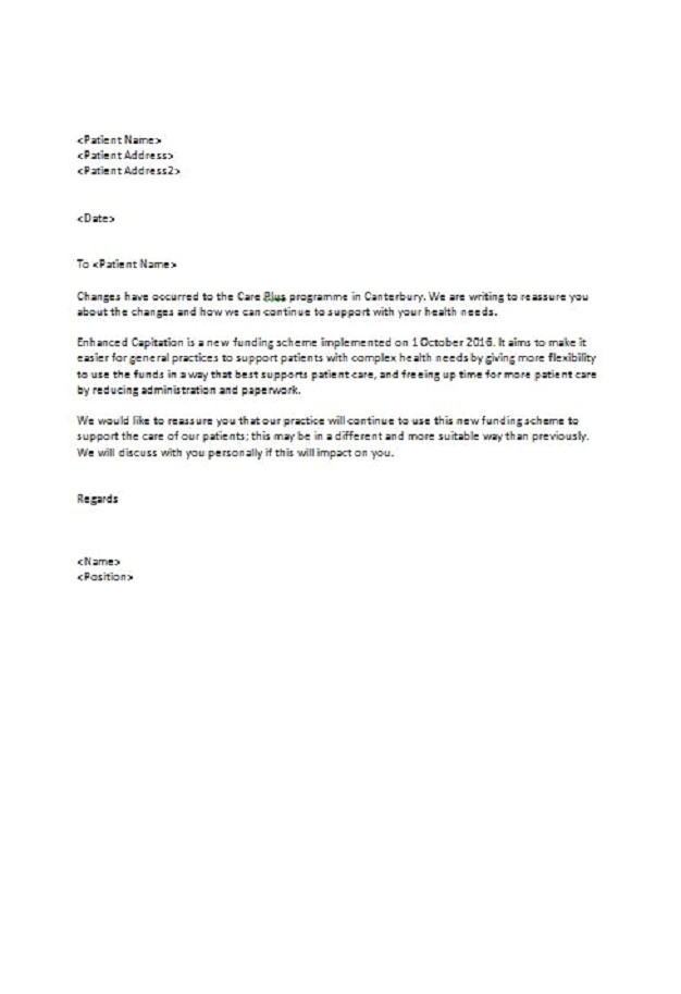 cover letter template careers nz