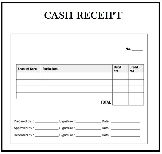 customizable cash receipt template in word excel and pdf formats