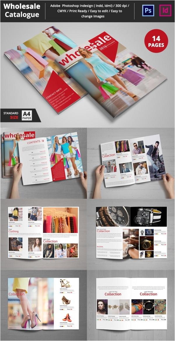 Catalogue Photoshop Template Psd Catalogue Template 53 Psd Illustrator Eps