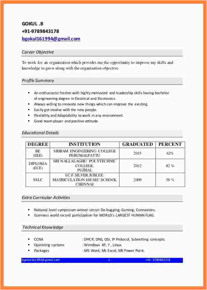 5 ccna resume sample