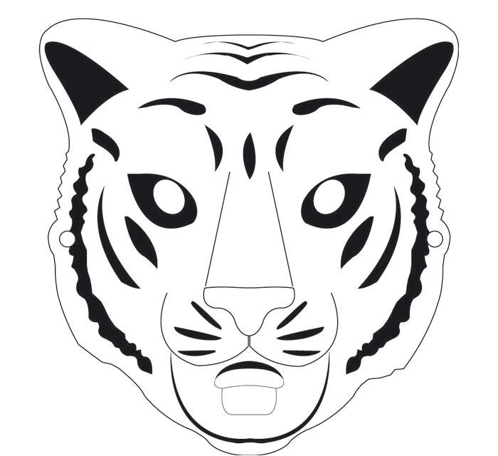 animal mask template