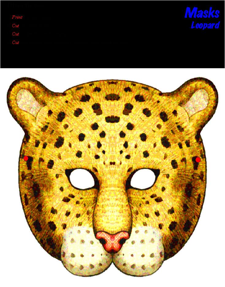masks 20clipart 20cheetah