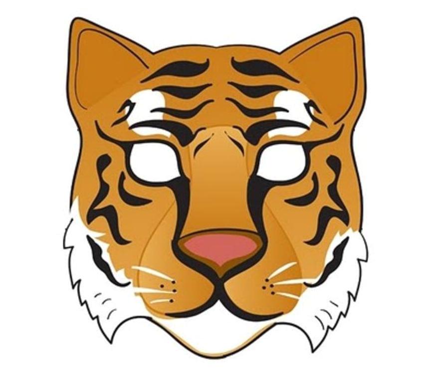 Cheetah Face Mask Template Modele Masti De Animale Colorate Lucru Manual
