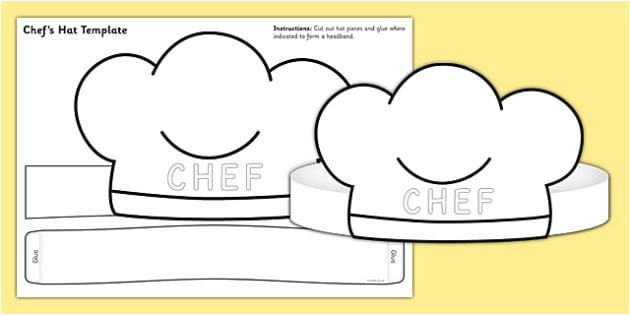 t t 26440 chef hat template