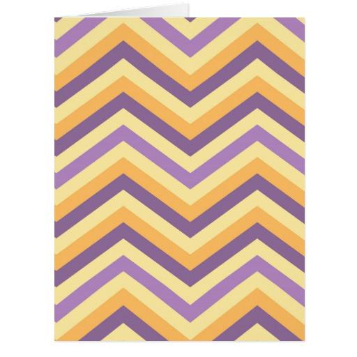 vintage chevron stripes pattern card 137742857264171781