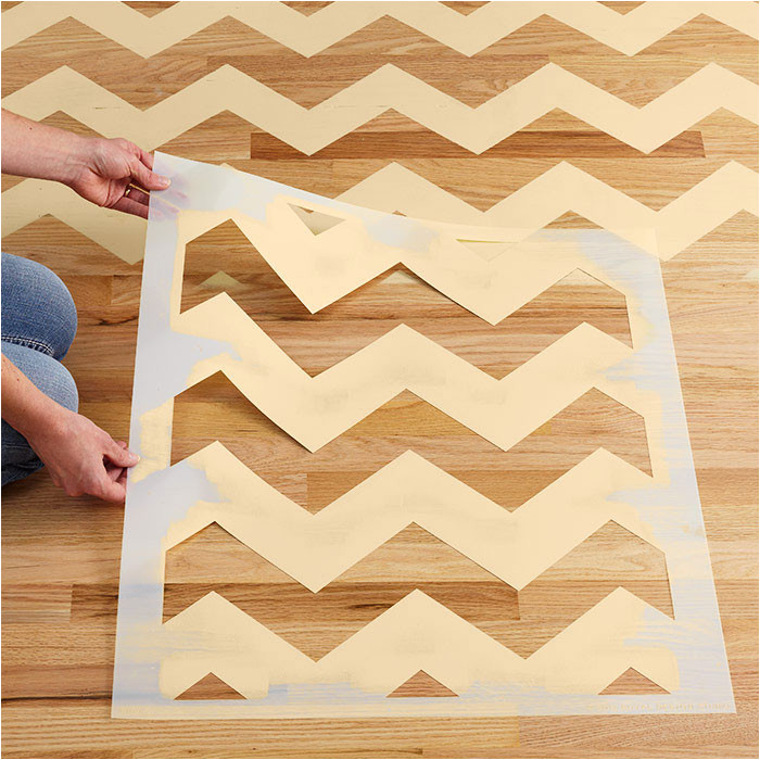 Chevron Template for Painting Thinking About Painting Your Floor Consider these 10 Tips