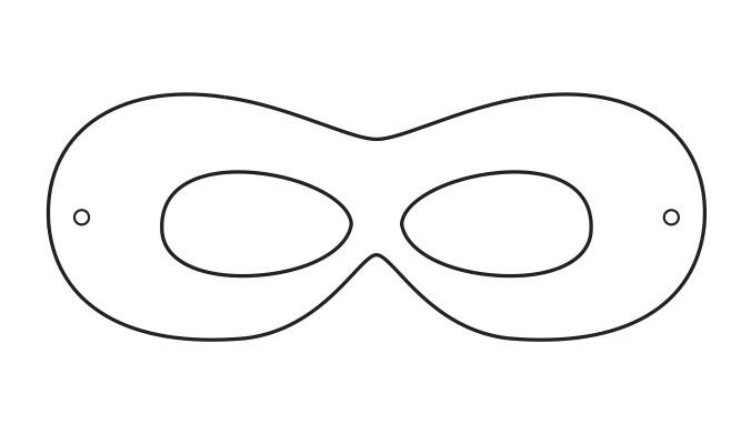 superhero mask template printables