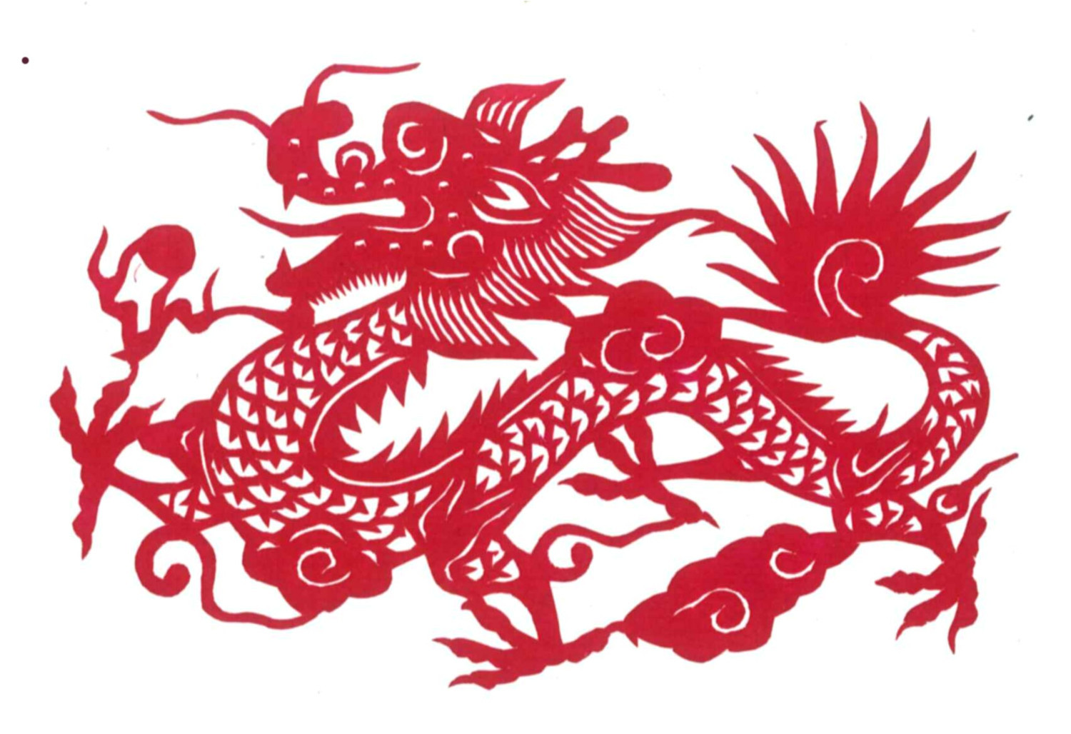 post paper chinese dragon 630315