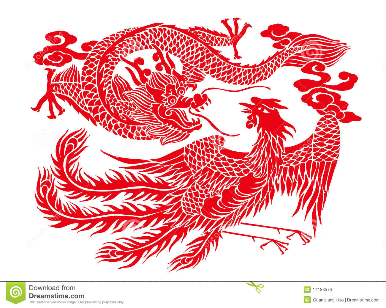 royalty free stock image chinese paper cutting image14183576