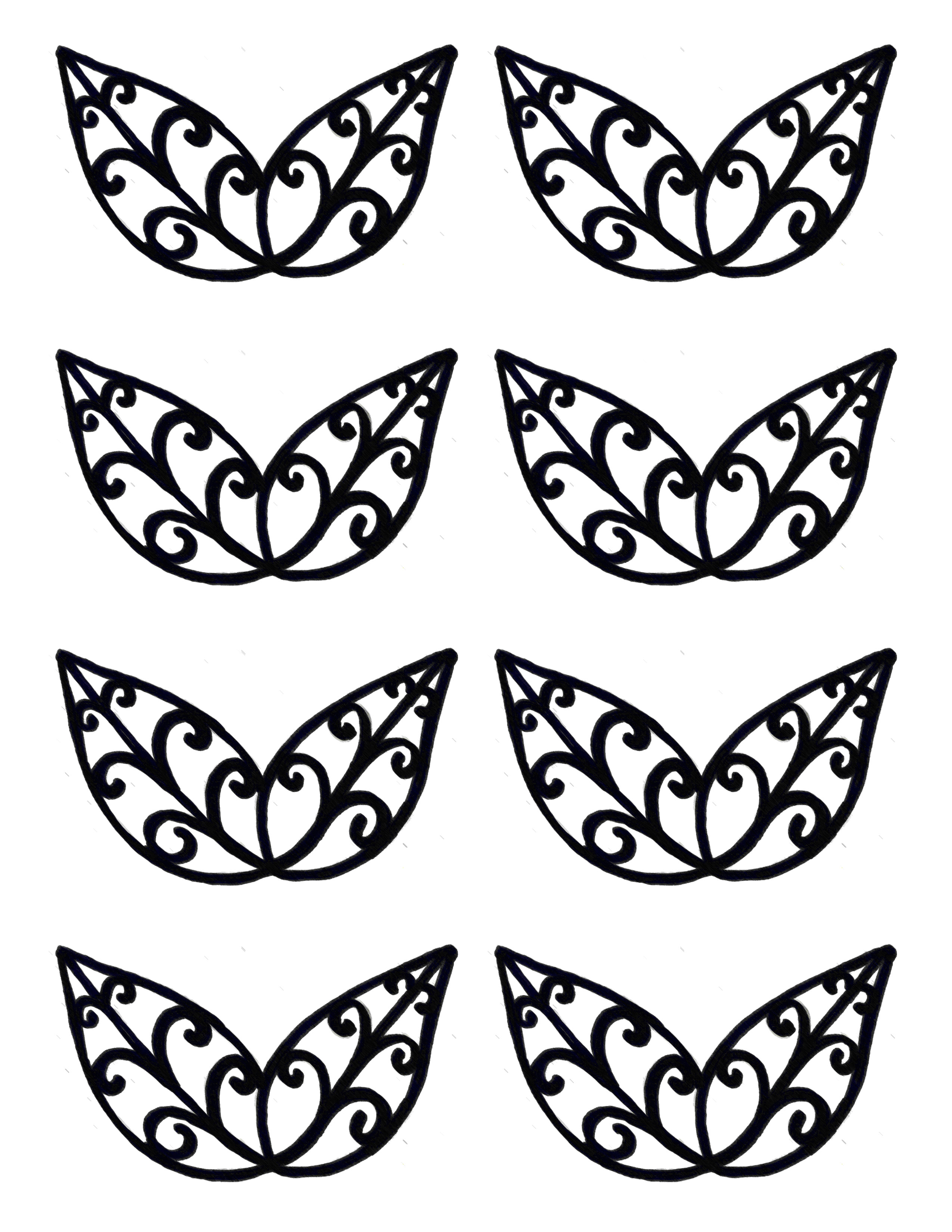 filigree templates