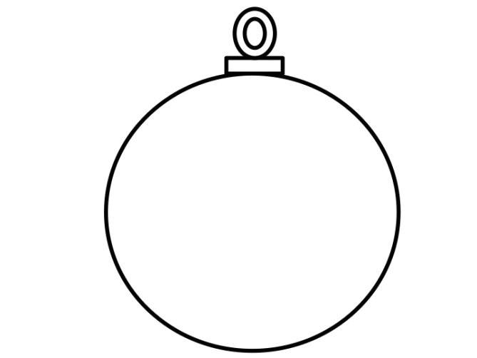 christmas tree bauble template merry christmas inside christmas baubles templates to colour