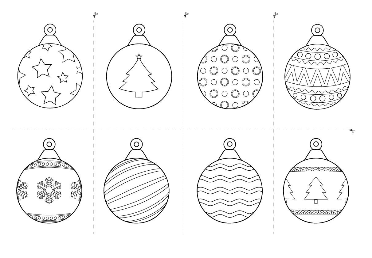 free printable christmas decorations for kids