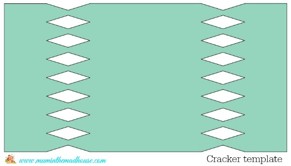 Christmas Cracker Template Printable Make Your Own Christmas Crackers Mum In the Madhouse