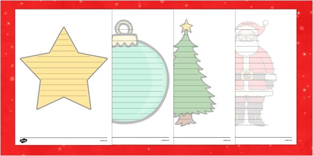t t 28682 christmas editable shape poetry writing template