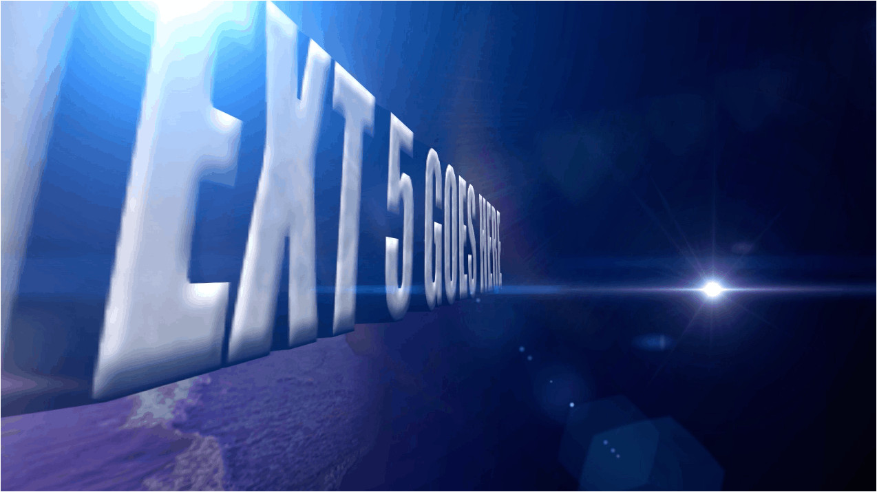 Church after Effects Templates after Effects 3d Text Animation
