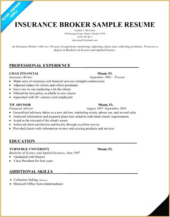 insurance claims representative resume sample 32859j