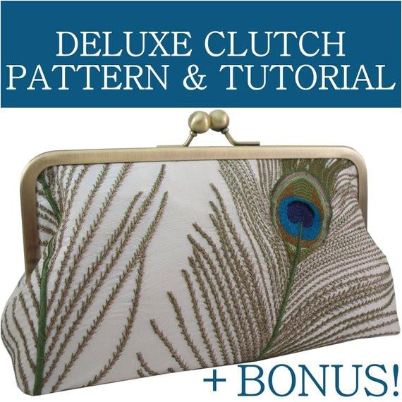 clutch purse pattern pdf tutorial 6